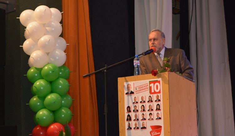 Славчо Велков: Промяната е спешно наложителна- с решителни стъпки  във всички области на живота ни!