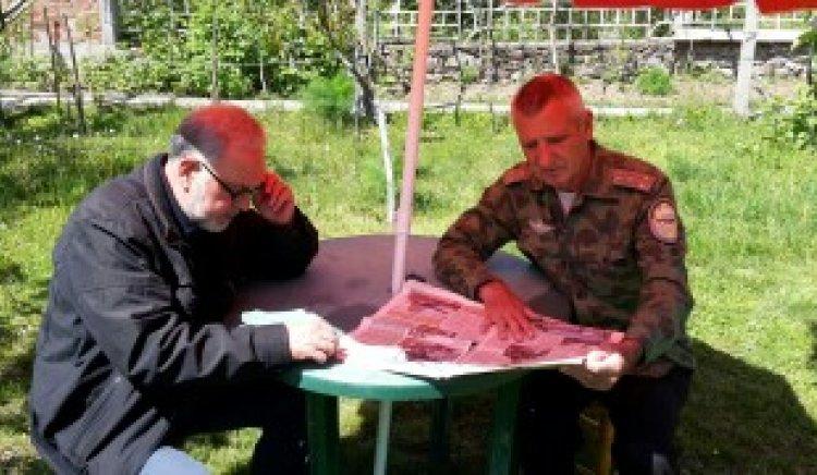 Славчо Велков дискутира по проблемите на запасните офицери