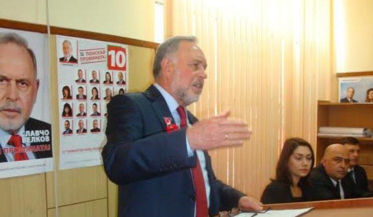 Славчо Велков:С всички сили бих работил за възвръщането на достойнството на хората от запаса, както и на ветераните от войните